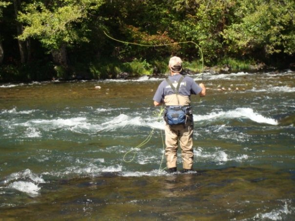 Fly Fishing on the N. Umpqua