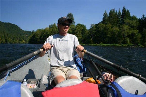 Rowing the Mckenzie
